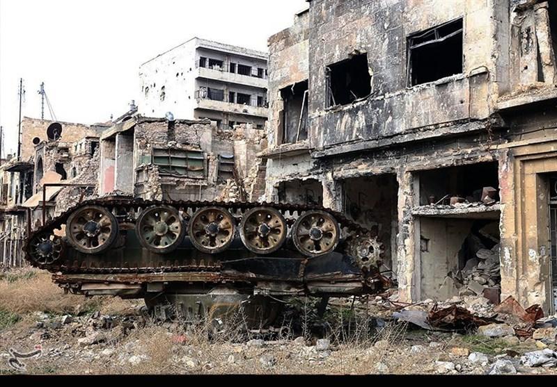 حلب/ قلعه آزاد شده/9