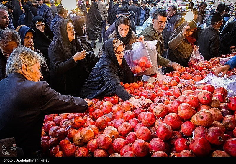 خرید شب یلدا در همدان