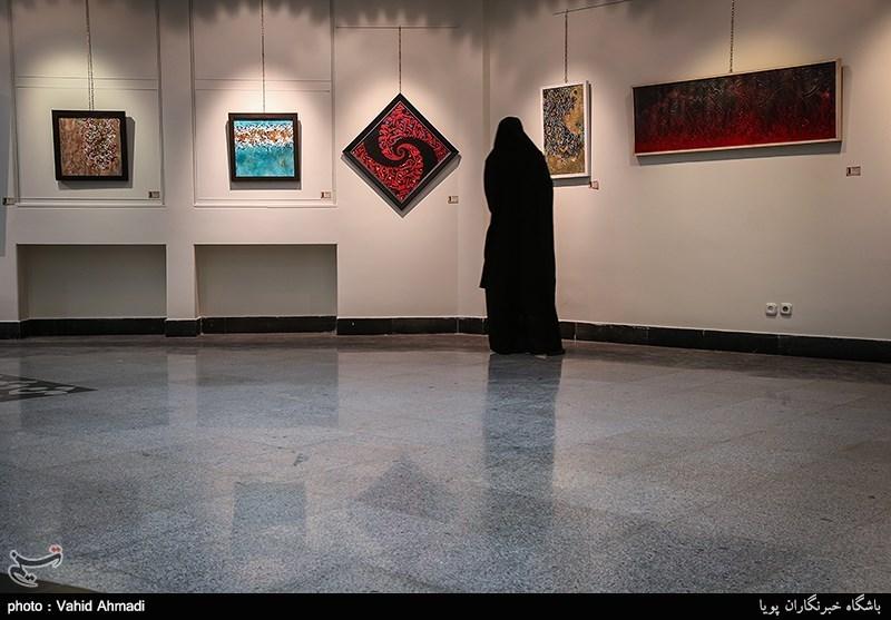 افتتاحیه جشنواره و نمایشگاه آثار هنرمندان نقاشی وخط