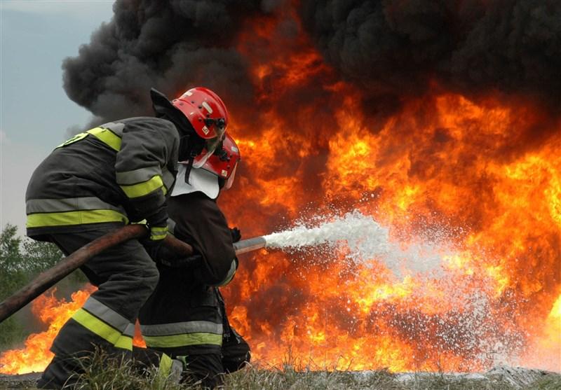آتشسوزی منزل مسکونی در خیابان شهید رجایی مهار شد