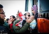 اشکها و لبخندها؛ تصاویر اختصاصی تسنیم از ورود اهالی کفریا و فوعه به «حلب» -2