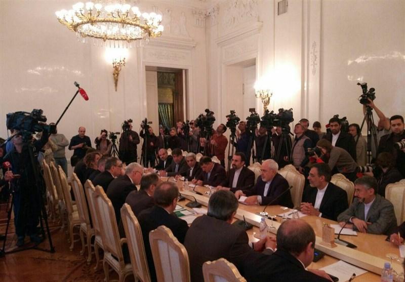 دیدار دوجانبه ظریف و لاوروف در مسکو