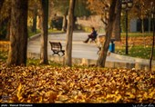 آخرین روز پاییز در تهران