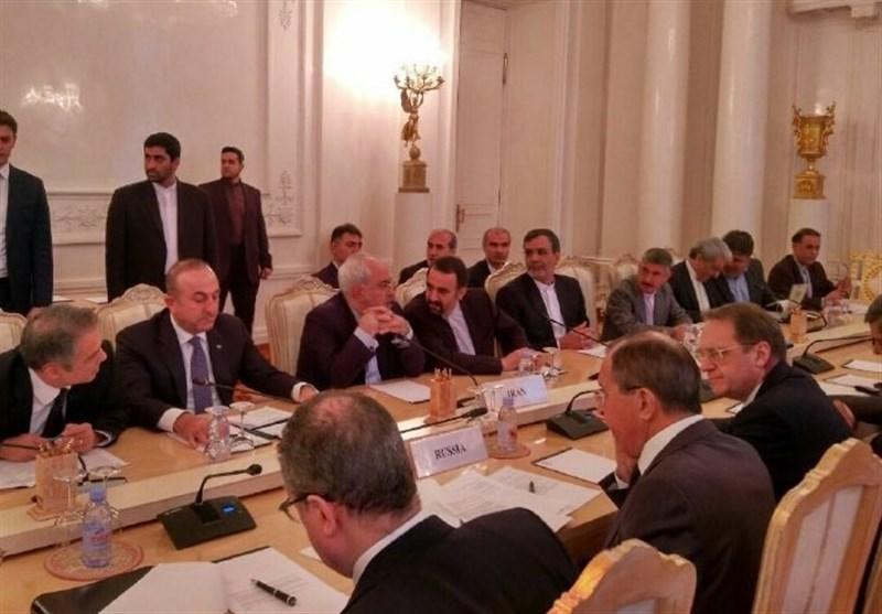بدء الاجتماع الثلاثی الایرانی الروسی الترکی فی موسکو