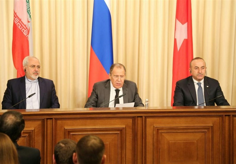 Iran, Russia, Turkey Underline Respect for Syria's Territorial Integrity