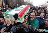 مراسم تشییع پیکر دو شهید مدافع حرم - مشهد