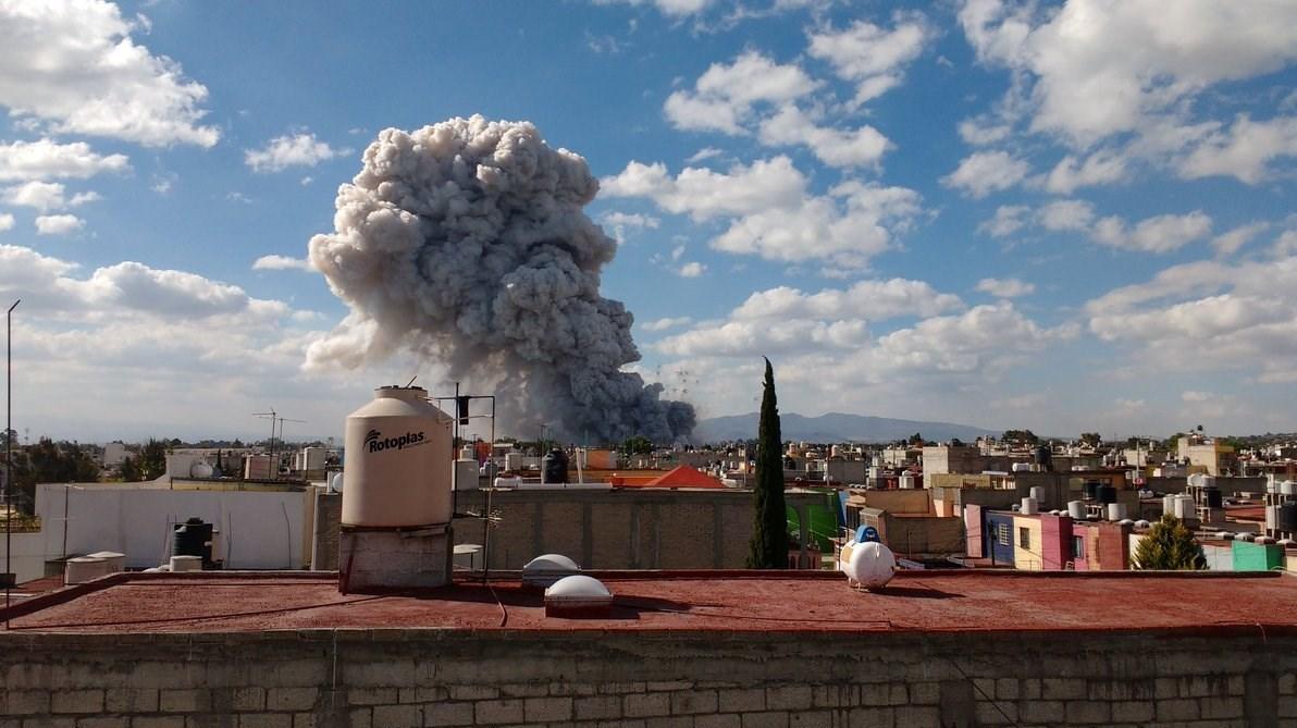 میکسیکو کے دارالحکومت میں دھماکے، 27 افراد ہلاک 70 سے زائد زخمی