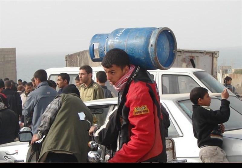 على أعتاب الشتاء..ازمة الغاز فی قطاع غزة