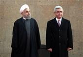استقبال رسمی از روحانی - ارمنستان