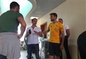 استقبال ژاوی از یوونتوسیها در قطر پیش از سوپر جام ایتالیا + تصاویر