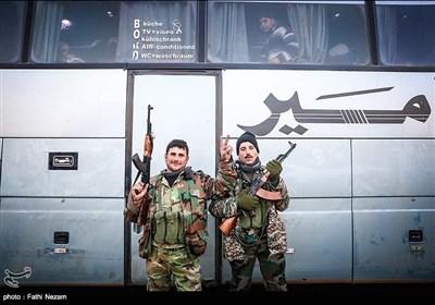 اہالیان کفریا اور فوعہ کی خندہ پیشانی کے ساتھ حلب واپسی