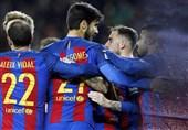 صعود قابل انتظار و پرگل بارسلونا