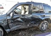 تصادف خودرو لوکس 1