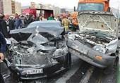 تصادف خودرو لوکس 6