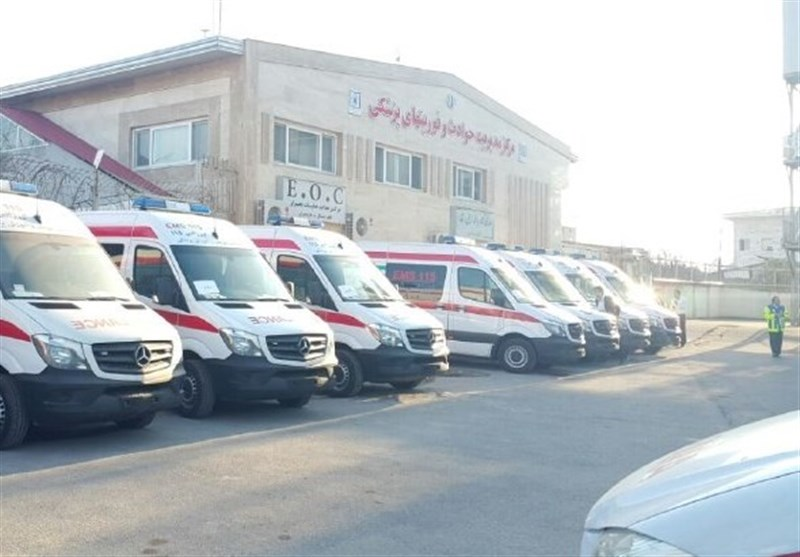آمادهباش 37 پایگاه فوریتهای پزشکی در تعطیلات عید نوروز,