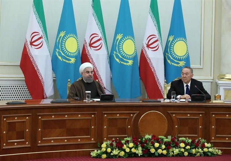 روحانی یدعو من کازاخستان الی اعادة الامن والاستقرار للمنطقة