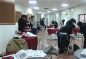 سومین دوره مسابقات «صندلی روزنامهای» در دانشگاه کردستان برگزار شد