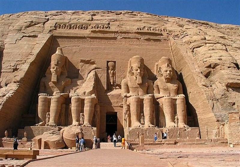 معبد ابو سمبل مصر