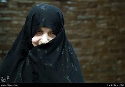 مادر شهید ابراهیم لشکری نژاد ( شهید طلبه قرآنی)