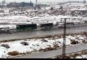 حلب/ برف/ اتوبوس/3