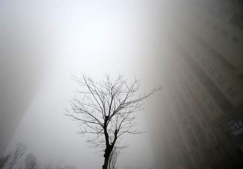 عکس / آلودگی هوا در چین
