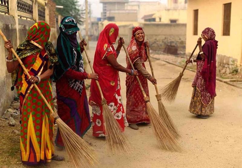 زنان روستایی هند در راجستان