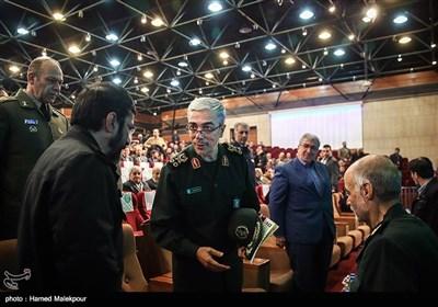 ورود سرلشکر محمد باقری رئیس ستاد کل نیروهای مسلح به کنگره سراسری 6500 شهید فاوا دفاع مقدس