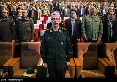 سرلشکر محمد باقری رئیس ستاد کل نیروهای مسلح در کنگره سراسری 6500 شهید فاوا دفاع مقدس