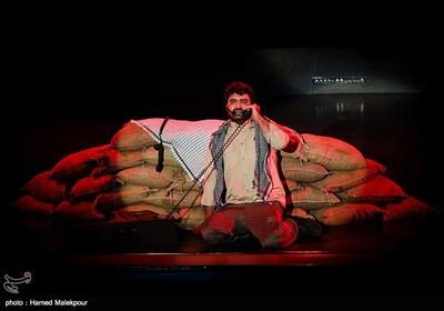 اجرای نمایش در کنگره سراسری 6500 شهید فاوا دفاع مقدس