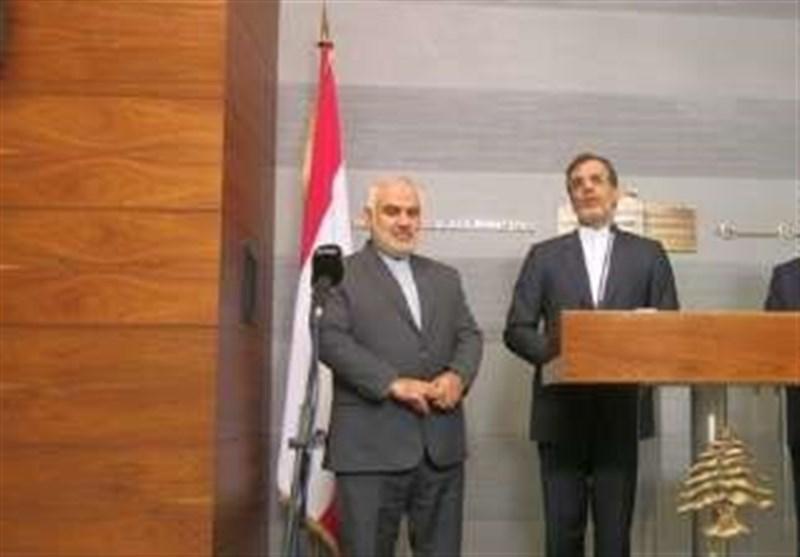 جابری انصاری: نامل ان نشهد مرحلة جدیدة من التعاون بین ایران ولبنان