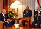 ترامپ بر کمکهای نظامی به مصر پایبند است