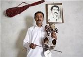 علی محمد بلوچ نوازنده قیچک