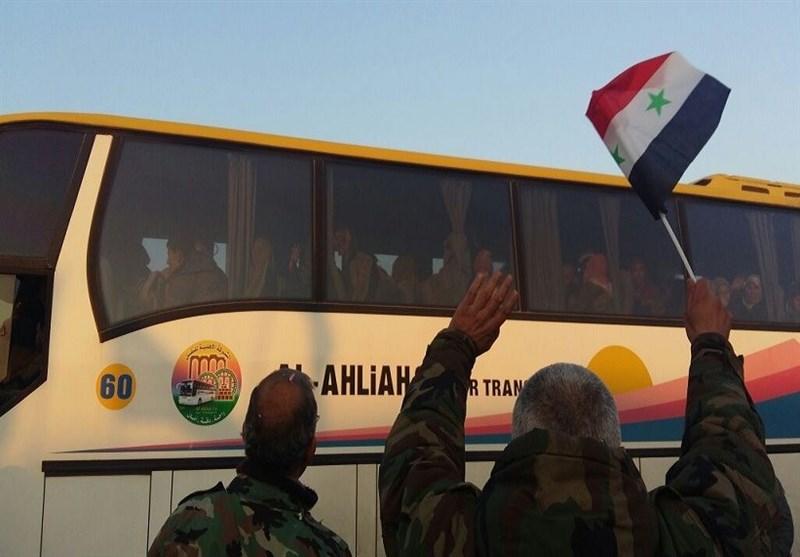 وصول 40 حافلة لأهالی الفوعة وکفریا إلى حلب .. وقطر تتسلم أسراها فی العراق