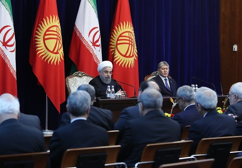President Rouhani: A New Chapter Opened in Tehran-Bishkek Relations