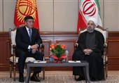 Iran Ready to Undertake Development Projects in Kyrgyzstan: President Rouhani