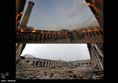 شهر حلب قبل و پس از جنگ