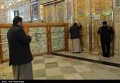 مفروش کردن ایوان طلای امیرالمومنین (ع) در نجف