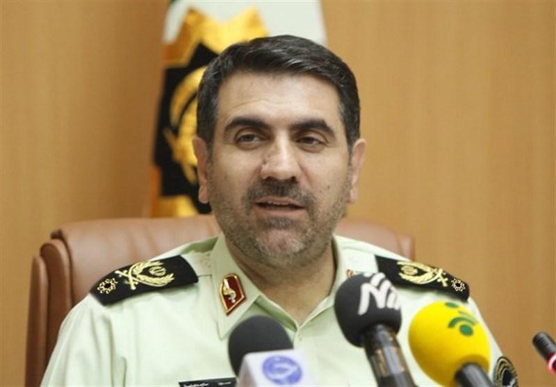 سردار ساجدی نیا رئیس پلیس تهران فرمانده پایتخت