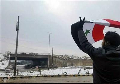 خروج آخرین اتوبوس حامل تروریستها از شرق«حلب»