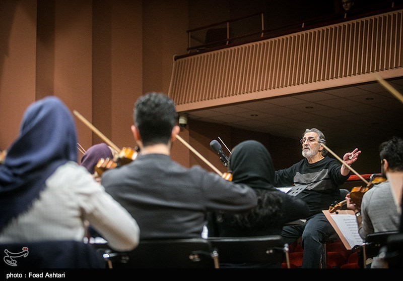 تمرین ارکستر ملی