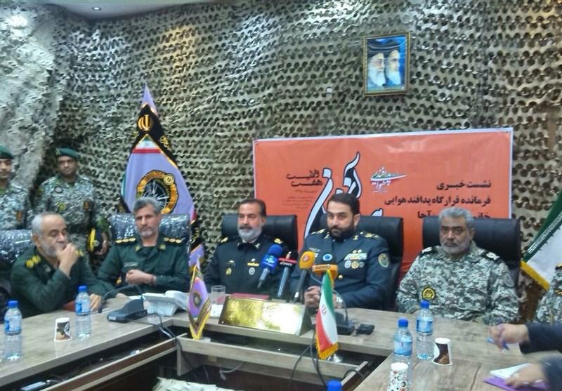 مناورات للدفاع الجوی فی ایران
