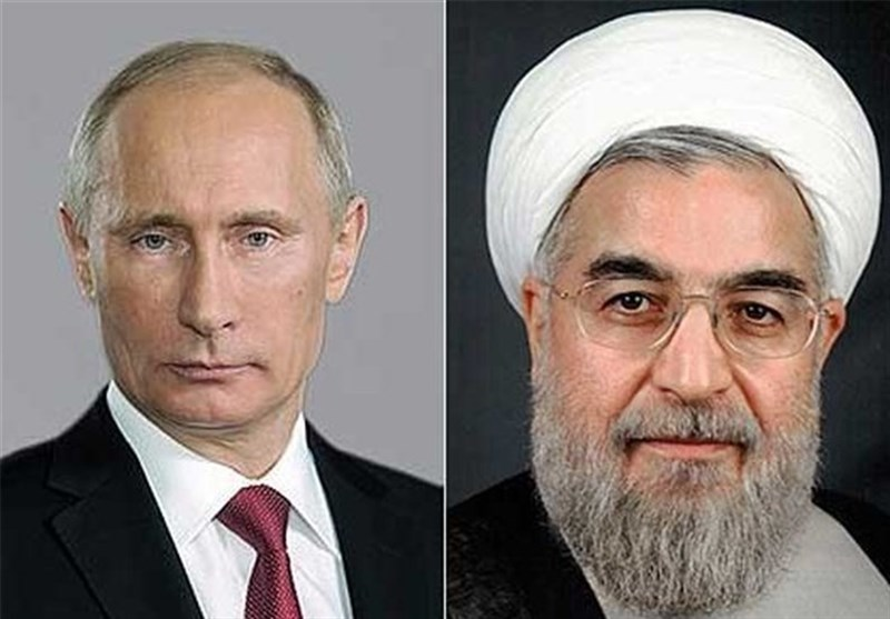 Rouhani, Putin Welcome Syria Ceasefire, Stress More Anti-Terror Moves