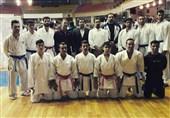 تیم کاراته دانشگاه پیام نور فارس