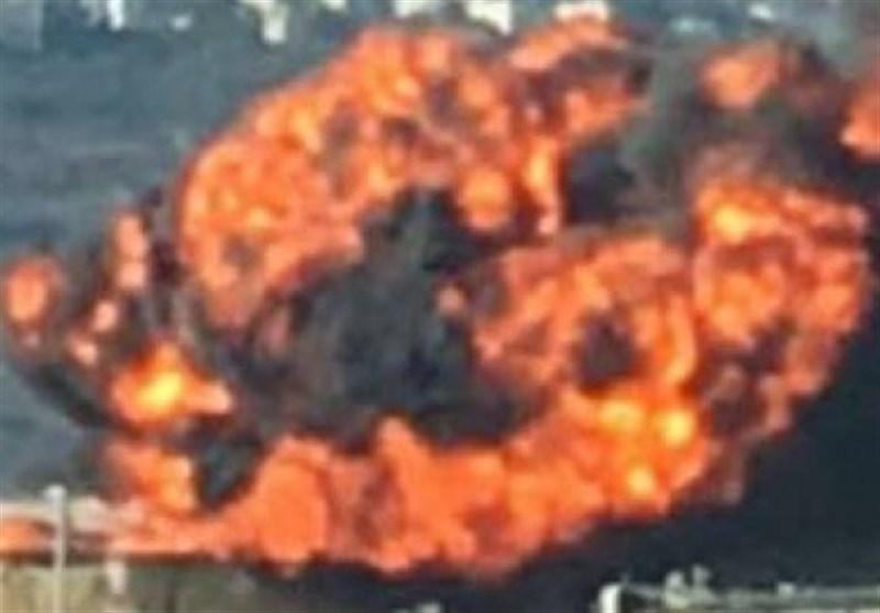 انفجار فی محطة تکریر نفط فی حیفا +فیدیو