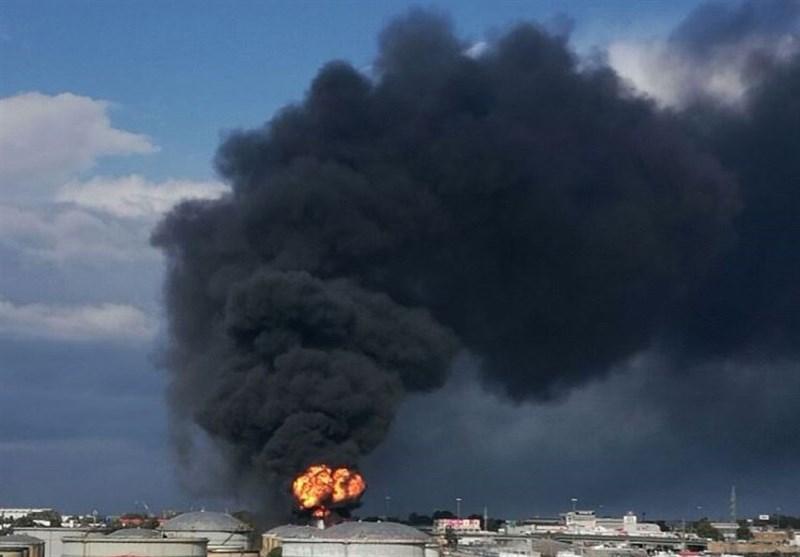 انفجار پالایشگاه حیفا