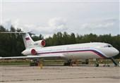 سقوط هواپیمای توپولف روسیه