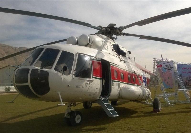 اورژانس هوایی در لارستان راهاندازی شد