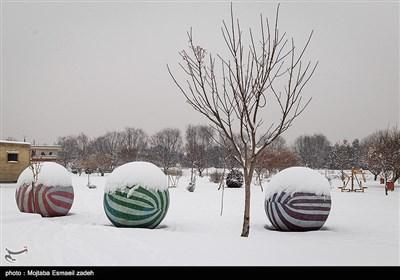 بارش برف در ارومیه
