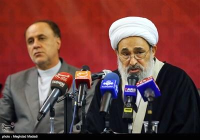 حجت الاسلام محمدحسین در نشست اعلام موجودیت جبهه مردمی نیروهای انقلاب اسلامی