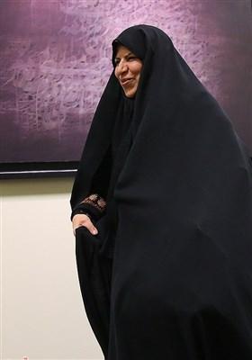 مرضیه وحیددستجردی پیش از نشست اعلام موجودیت جبهه مردمی نیروهای انقلاب اسلامی